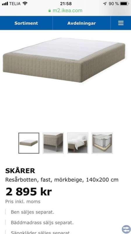 Säng IKEA