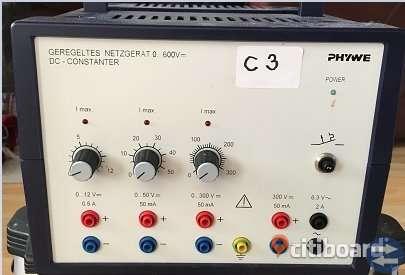 Konstantströmförsörjningaggregat 0 - 600V