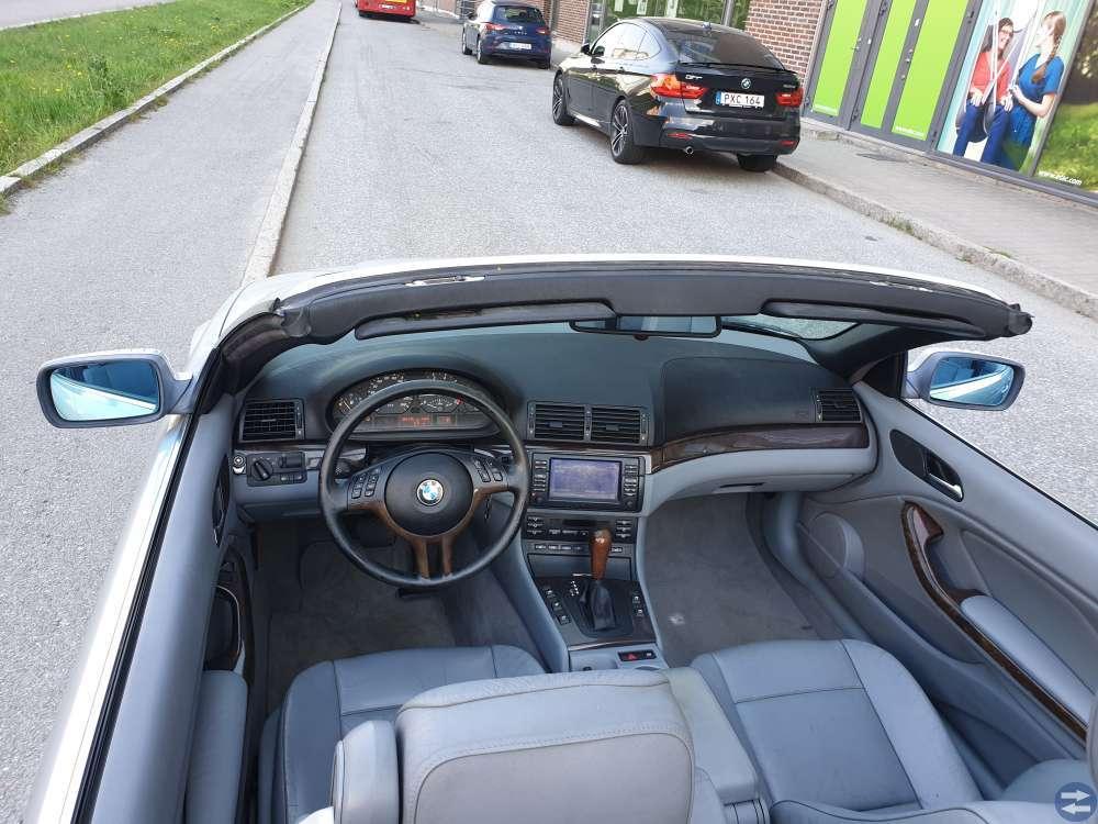 Bmw 325 cabriolet 193hk automat