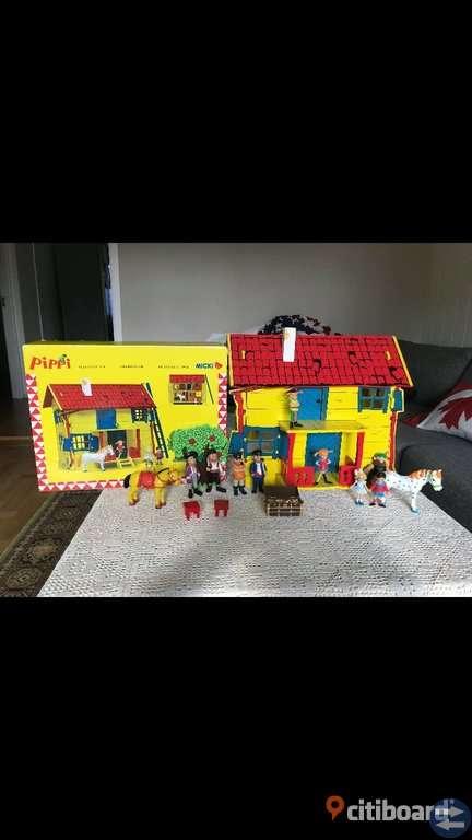 Pippi hus  med  tillbehör