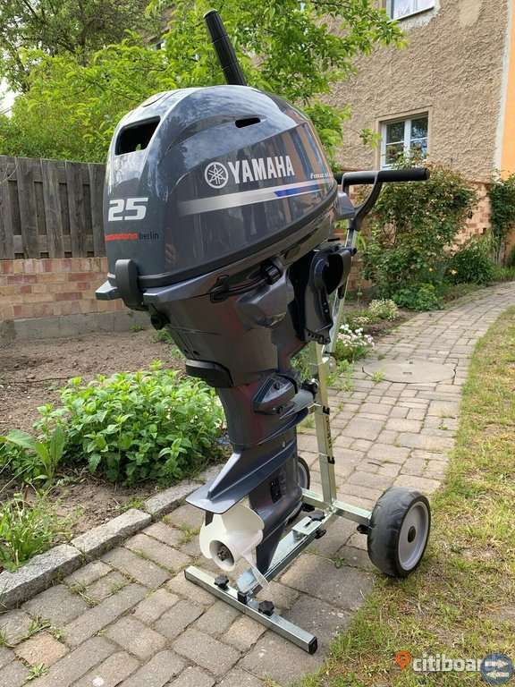 2018 Yamaha utombordsmotor F25 GMHS EFI