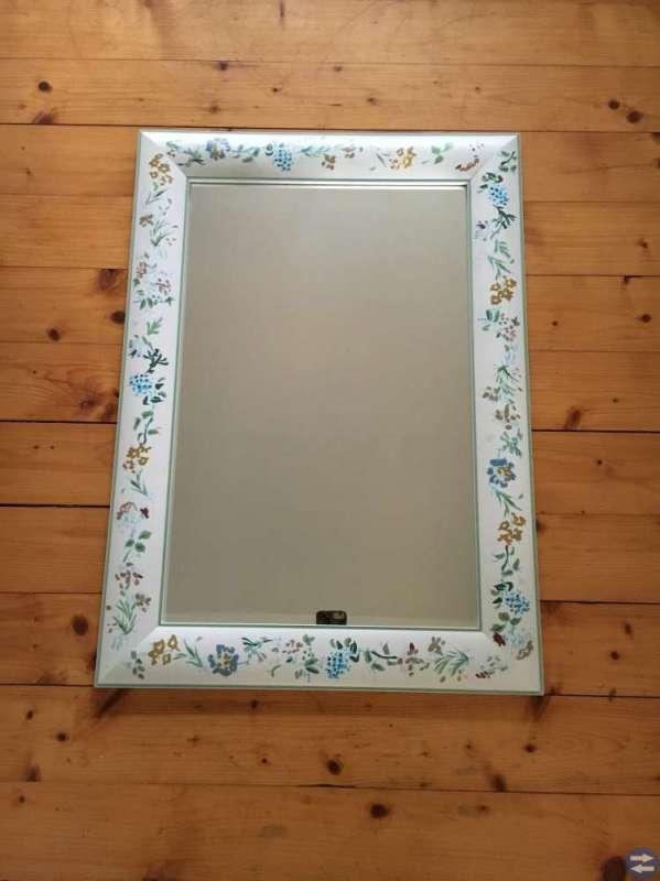 Handmålad Spegel