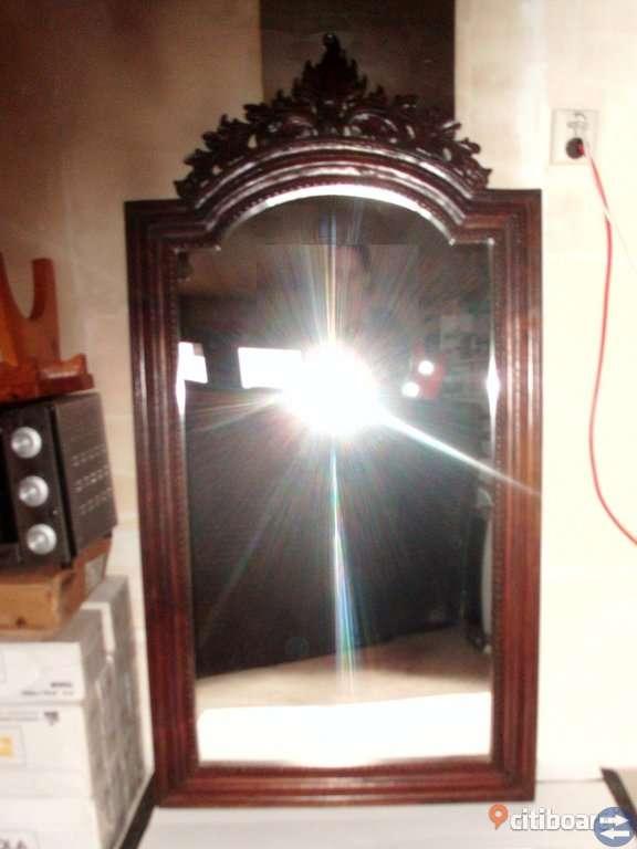 Mahagony spegel