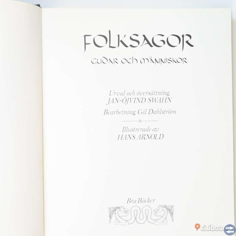 FOLKSAGOR - 4 volymer i serien sammanställd av Jan-Öjvind Swahn