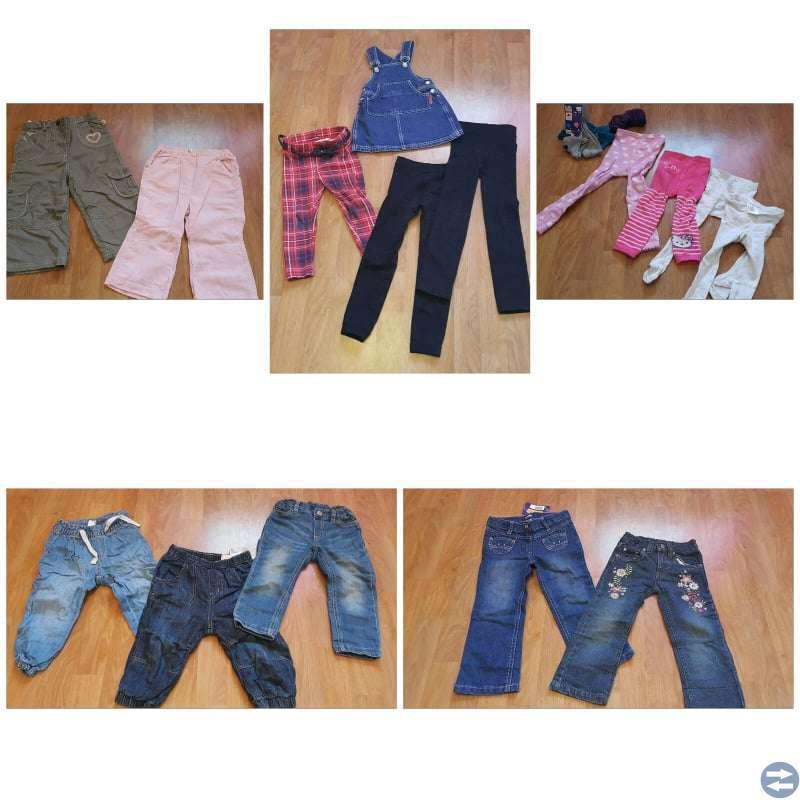 Klädpaket 78plagg till flicka stl 86-92