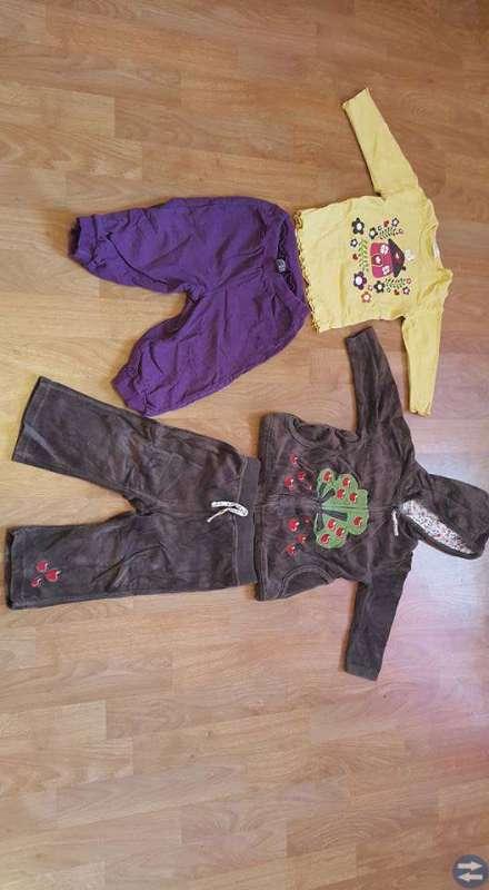 Klädpaket 24plagg till flicka stl 80