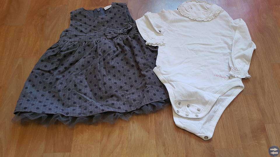 Klädpaket 14plagg till flicka stl 62-68