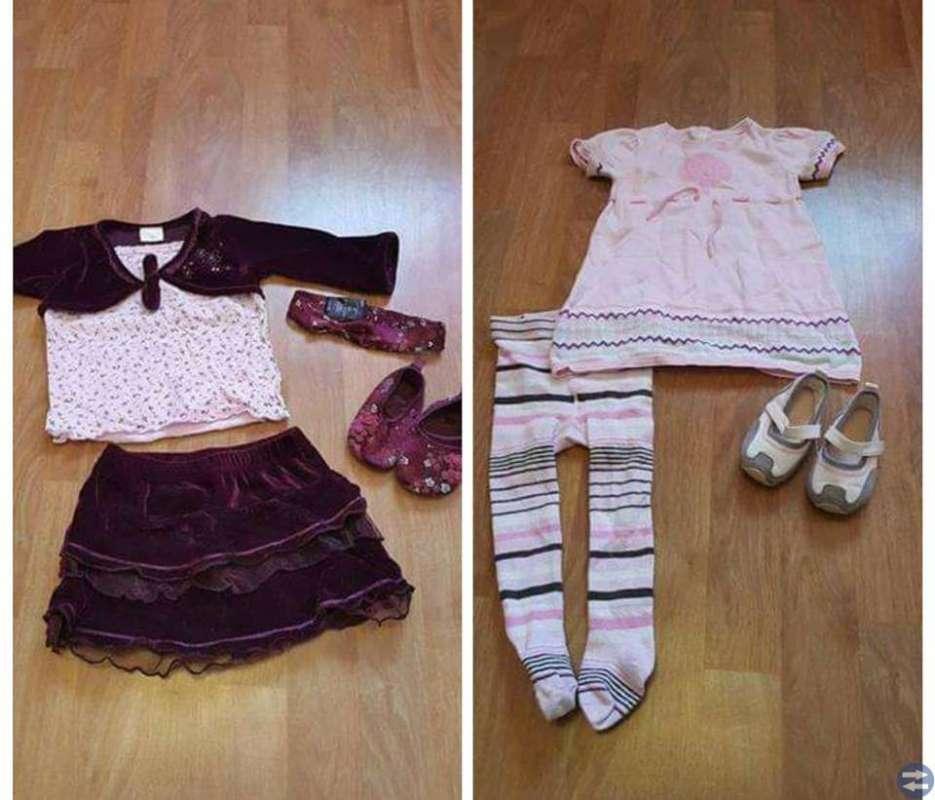 Fina Klädpaket till flicka stl 74-80