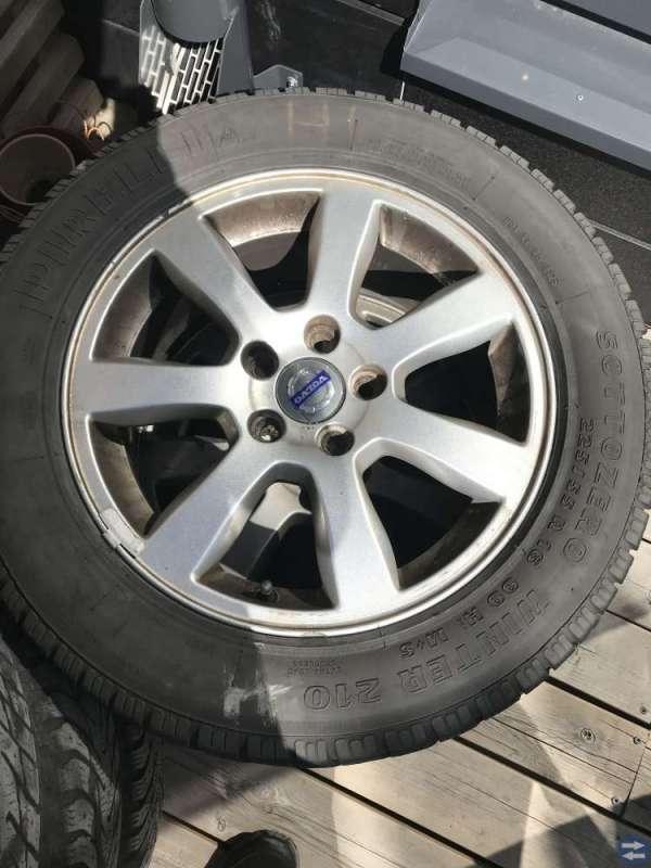 Kompletta hjul v70ll