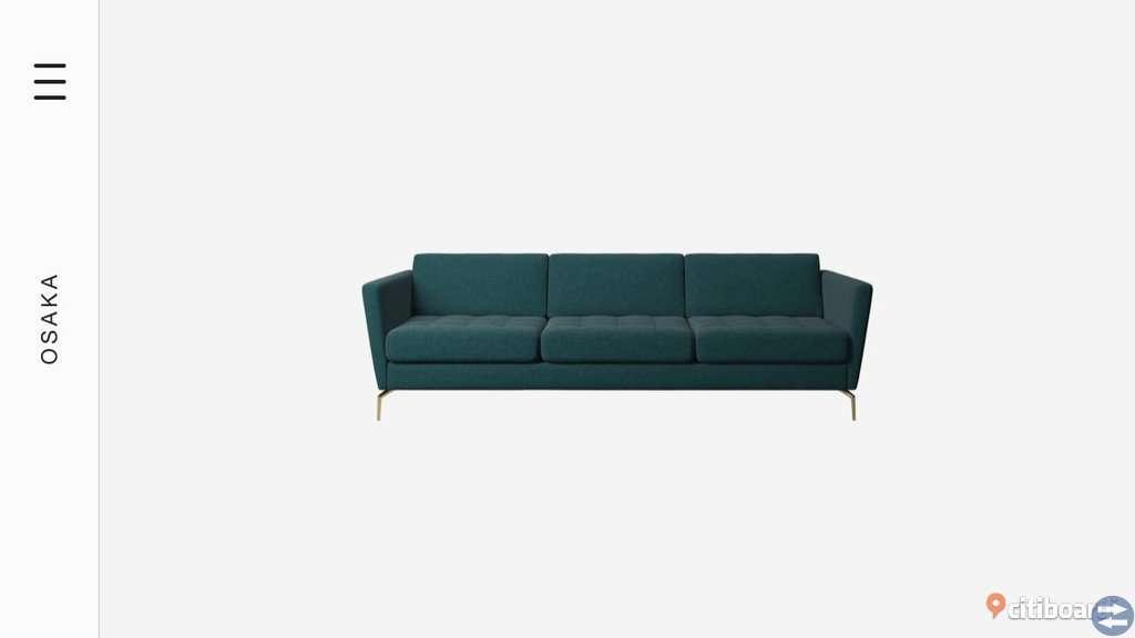 Osaka 3-sits soffa från boconcept