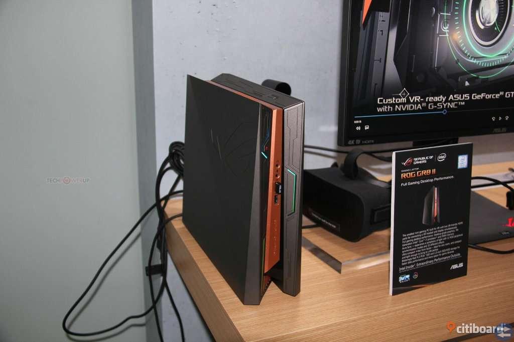 Gaming pc från ROG i5 7400 gtx 1060 32gb ddr4 ram (pris förhandlingbart)
