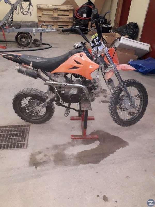 Fiddy 125 bytes Motorcyklar & Mopeder i Gävle fyrhjuling