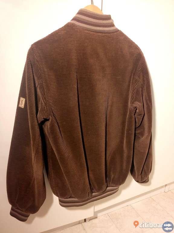 Yves Saint Laurent manchester jacka vintage herr