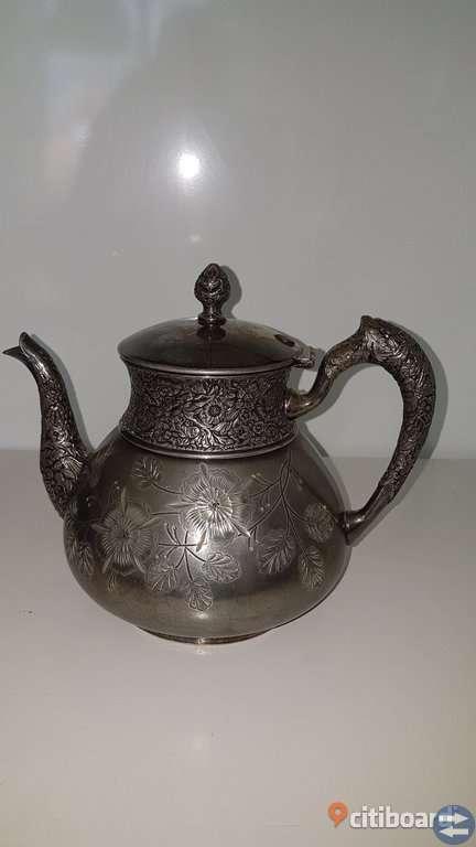 Antik silver servis