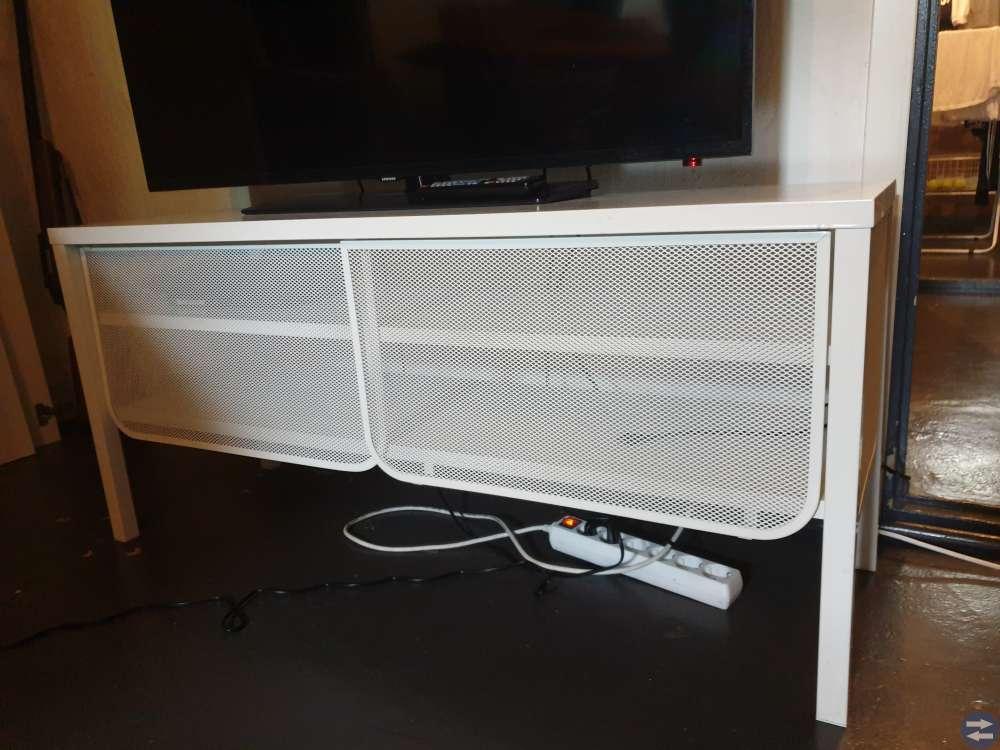 Tv Bänk Vit