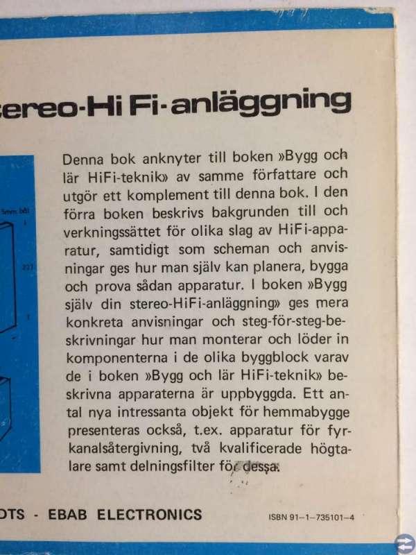 Bygg själv din stereo-HiFi-anläggning