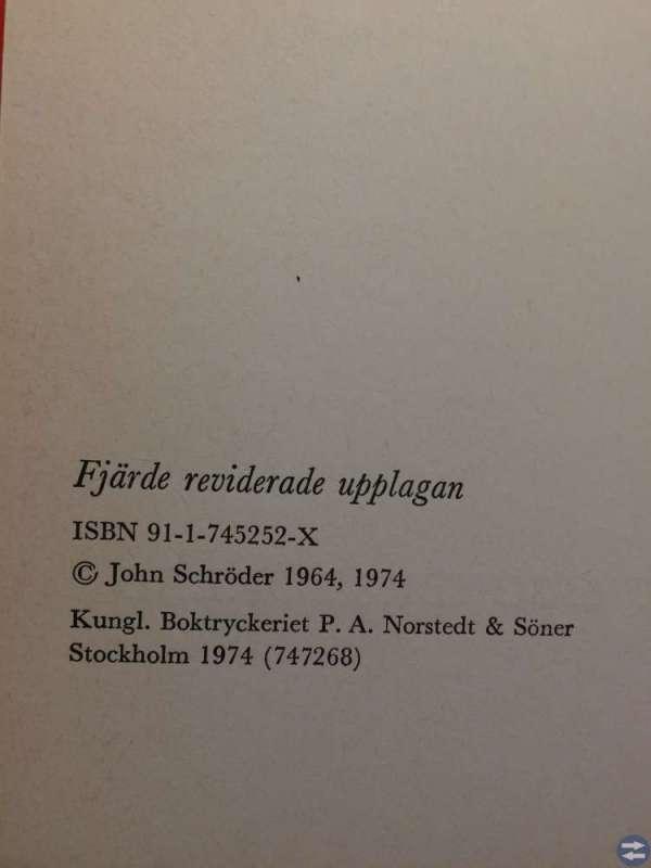 Elektronikens grunder Del 1 J. Schröder tryck 1974
