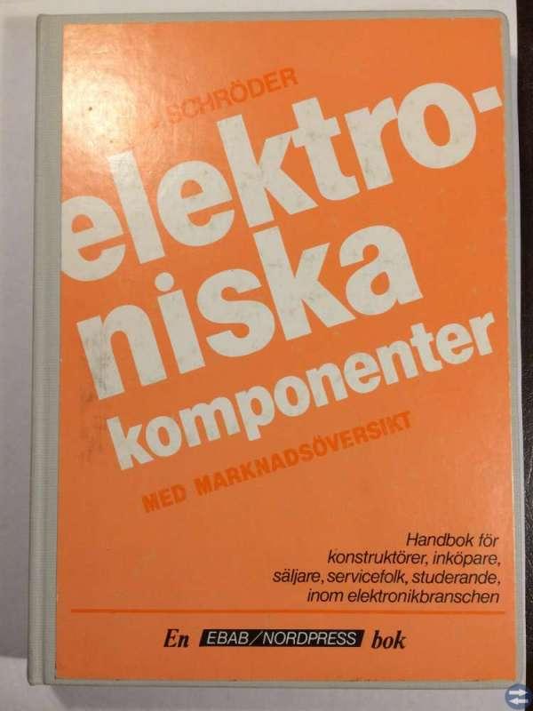 Elektroniska komponenter - Tryckt 1981