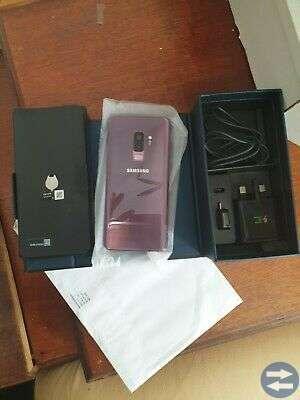 Samsung Galaxy S9 + Plus Lilac Lila 128GB olåst