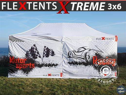 SNABBTÄLT FLEXTENTS PRO XTREME RACING 3X6M,