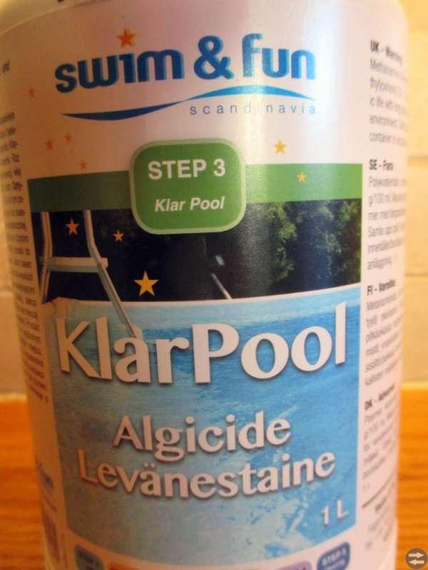 - KlarPool mot alger i Pool / Bassänger - Nytt -