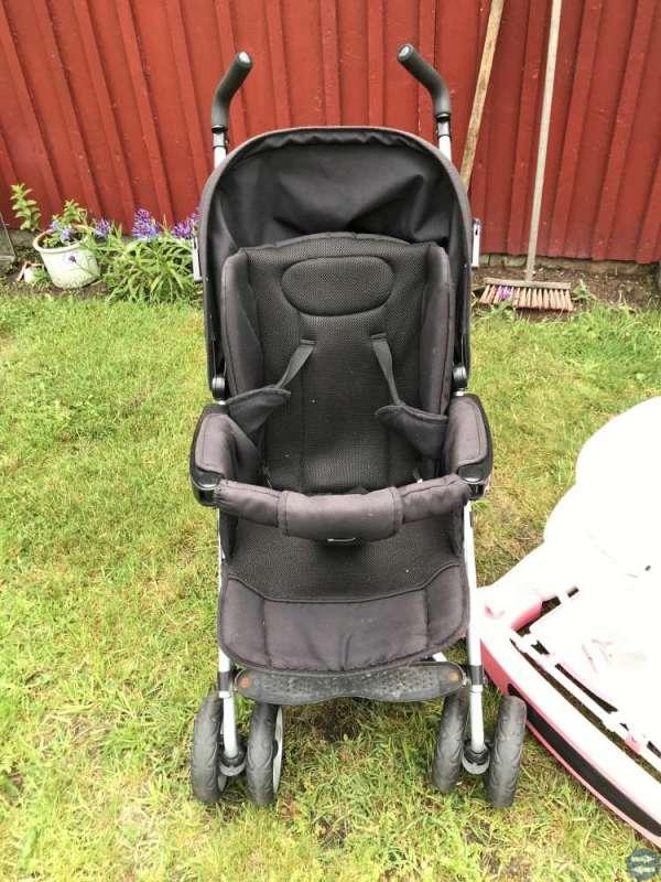 Barnvagn sulky/ gåstol