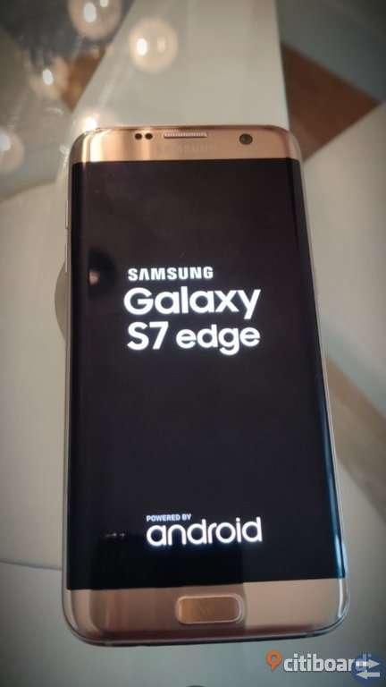 Samsung galaxy s7 edge  1år gammal