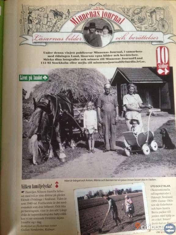 Minnenas Journal.  nr1 2010.