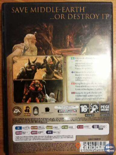 The Lord of The Rings: Conquest PC Komplett med manual