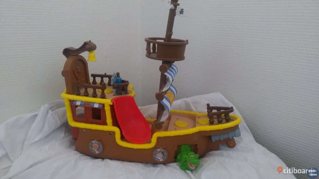 Jake och piraterna- skepp