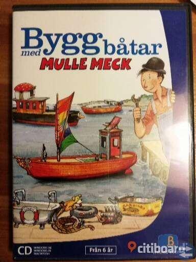 Mulle Meck Bygga båtar Komplett med manual
