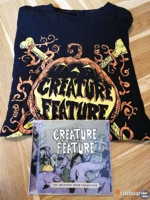 Creature Feature CD-Skiva + T-Shirt