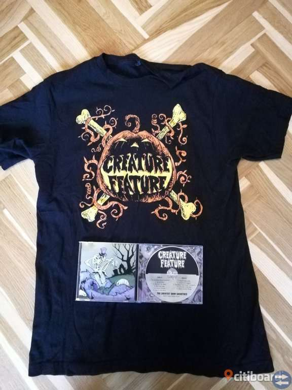 Creature Feature CD-Skiva + T-Shirt