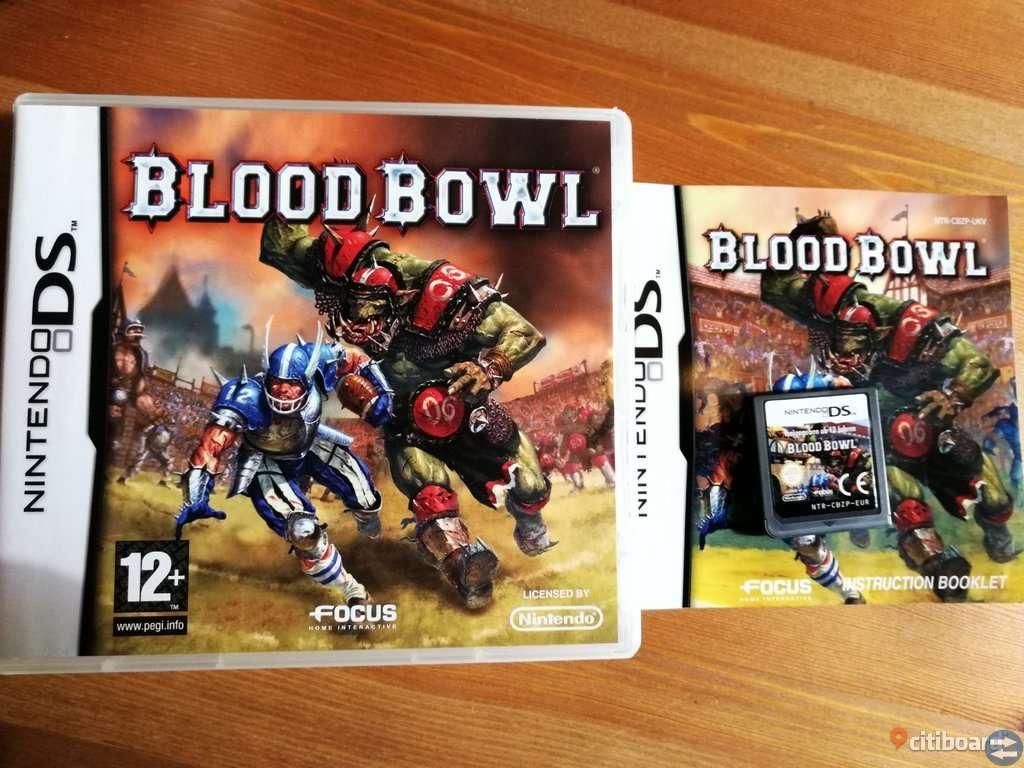 Blood Bowl Komplett - Nintendo DS