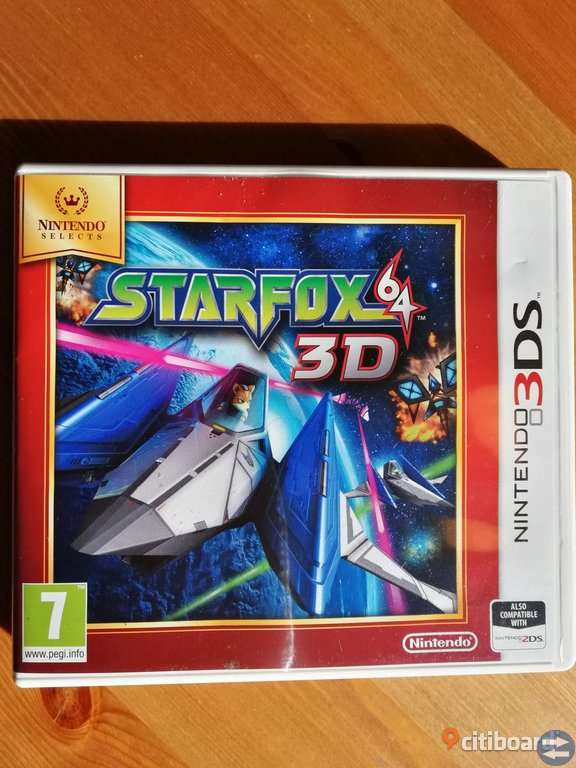 StarFox 64 3D - Nintendo 3DS