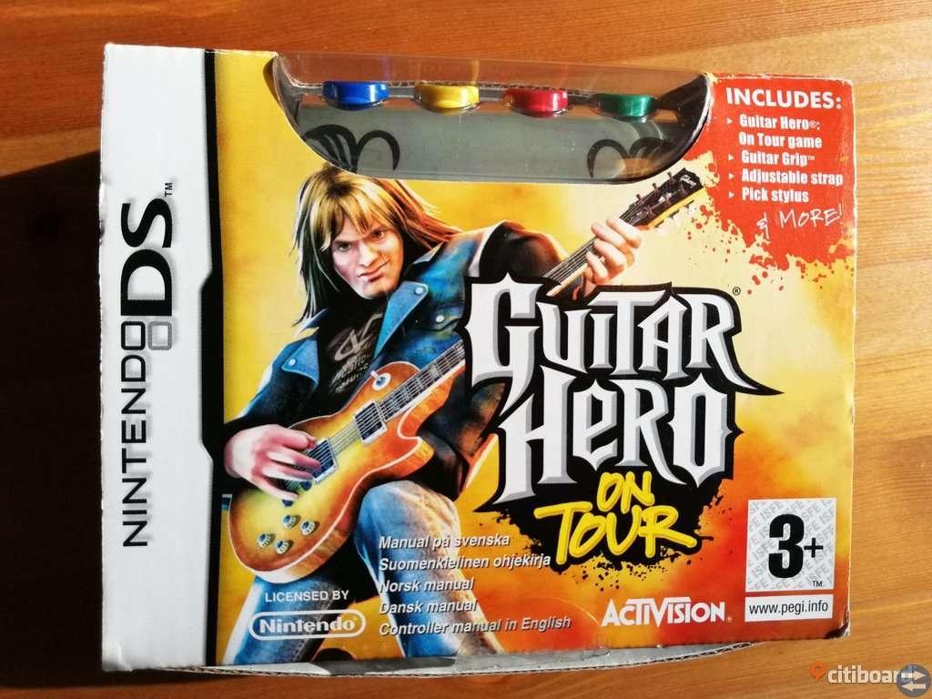 Guitar Hero on tour - Komplett Nintendo DS