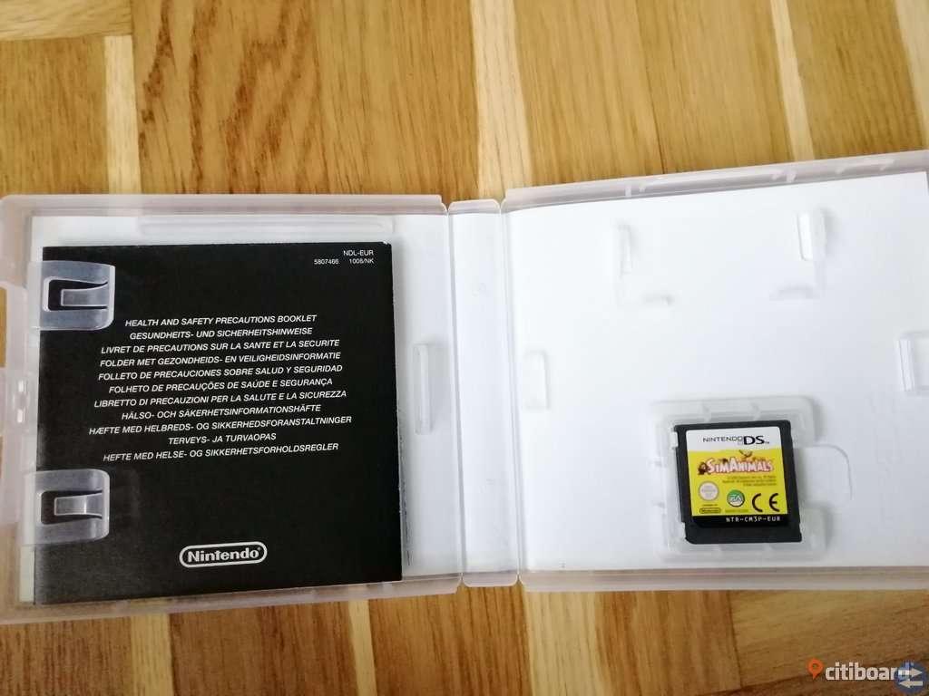 Sim Animals Komplett med Manual - Nintendo DS