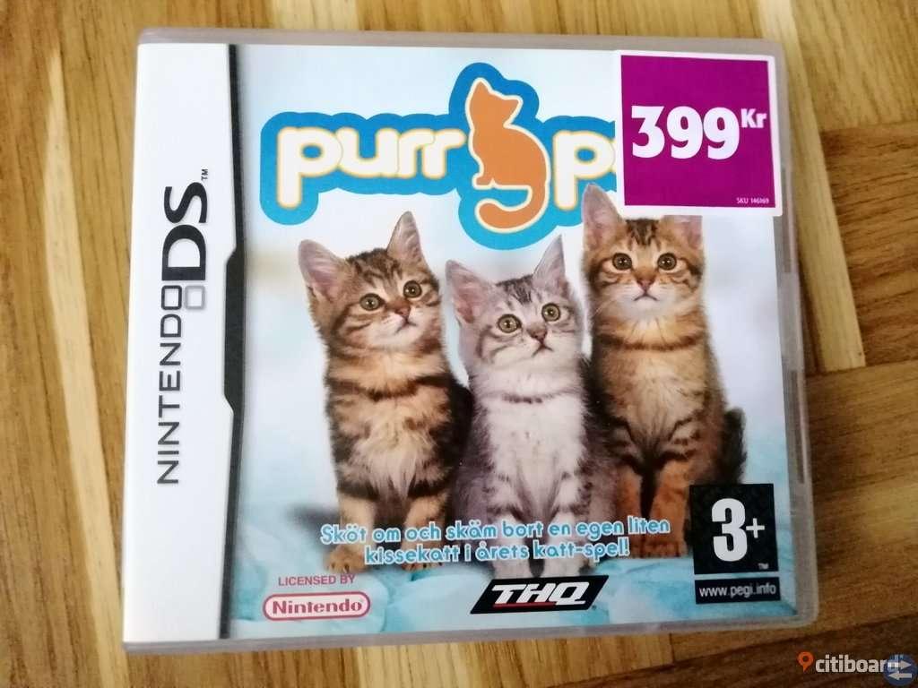 Purr Pals Komplett med Manual - Nintendo DS