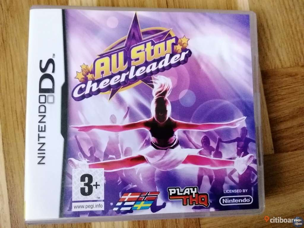 All Star Cheerleader Komplett med Manual - Nintendo DS