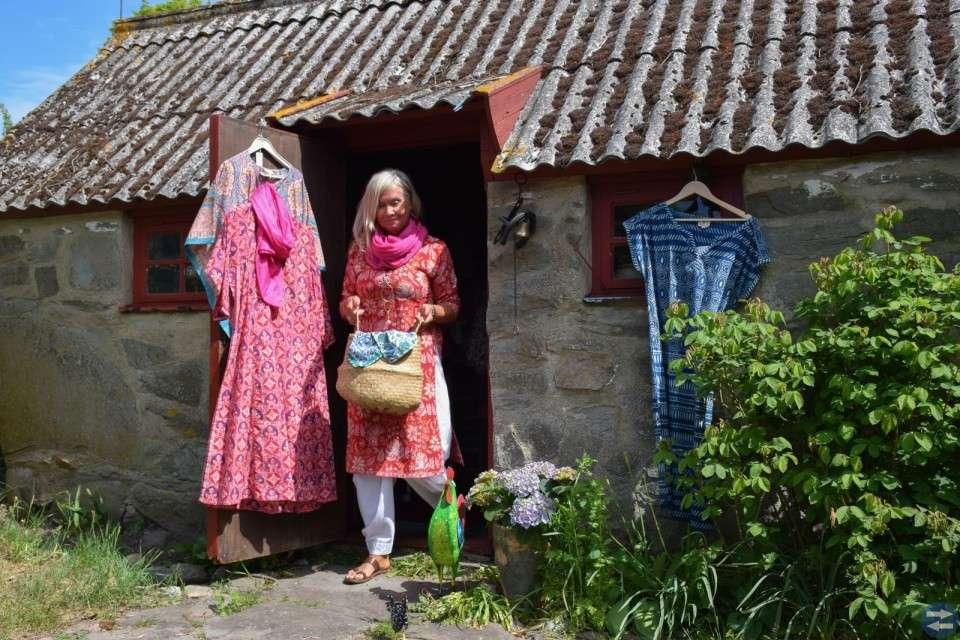 Hönshuset - en bit av Indien, på Österlen