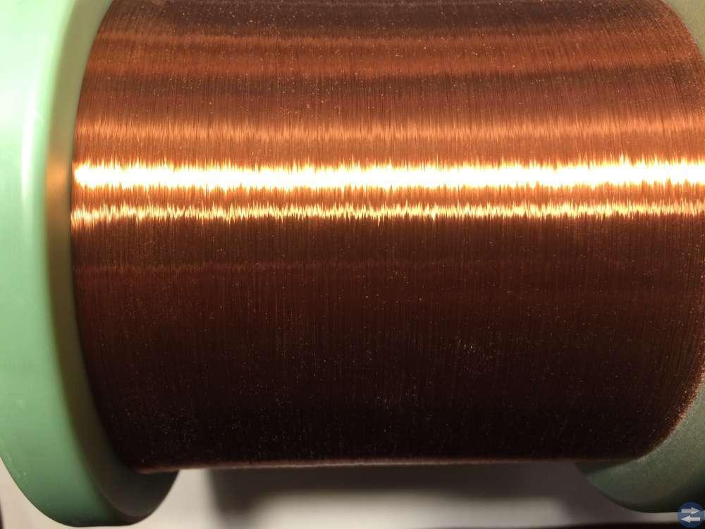 Lackisolerad Koppartråd -- Elektrisola -- 0,070 mm