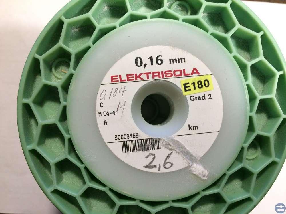 Lackisolerad Koppartråd -- Elektrisola -- 0,160 mm