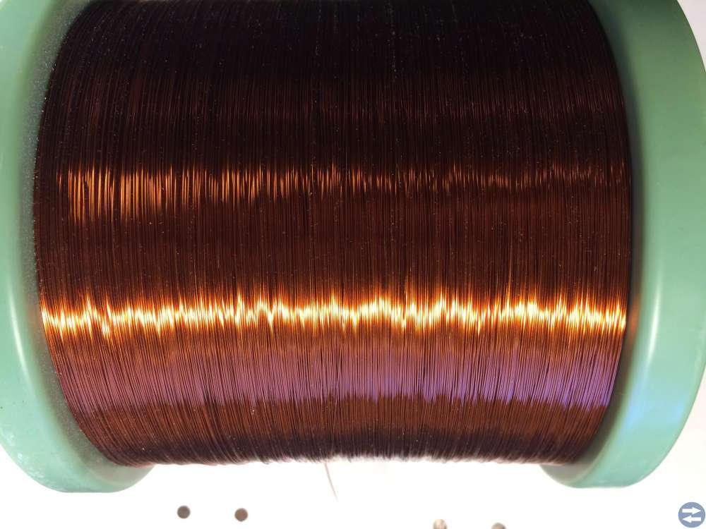 Lackisolerad Koppartråd -- Elektrisola -- 0,315 mm