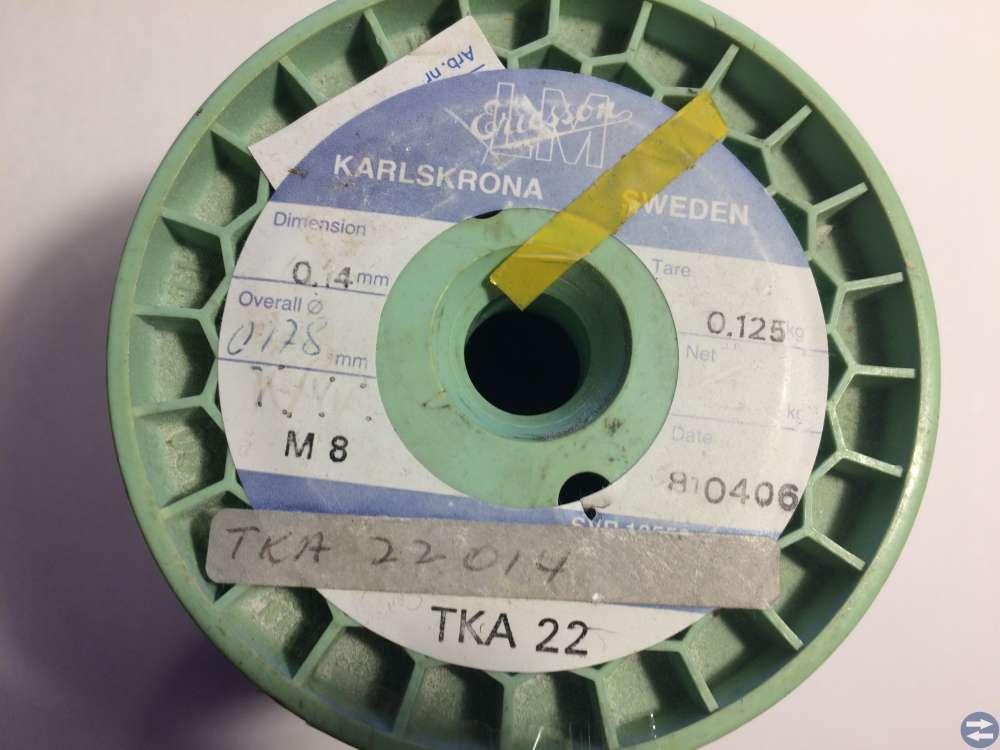 Lackisolerad koppartråd -- Ericsson -- 0,140 mm
