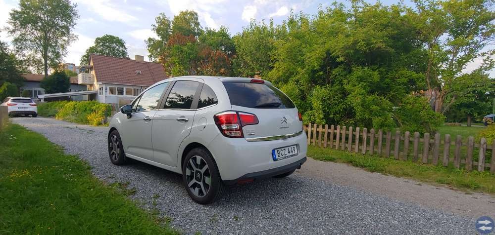 Välvårdad Citroen C3 Steel edition