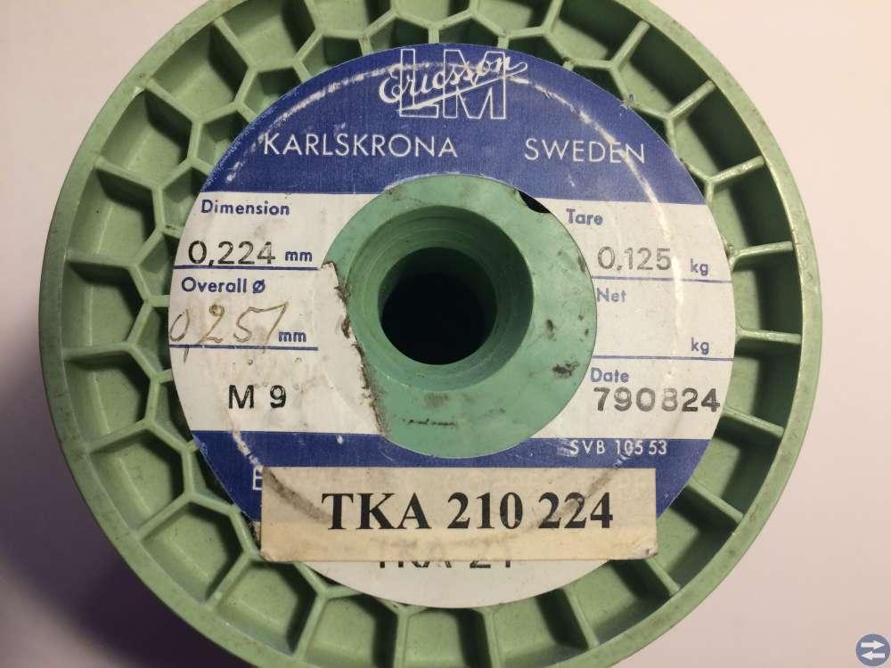 Lackisolerad koppartråd Ericsson -- 0,224 mm (2)