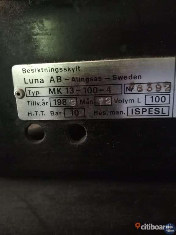 Kompressor, volym 100
