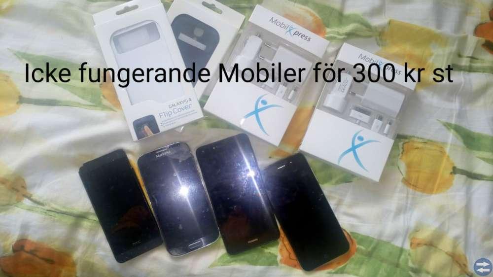 Nya Högtalare+Tablets & Använda Mobiler