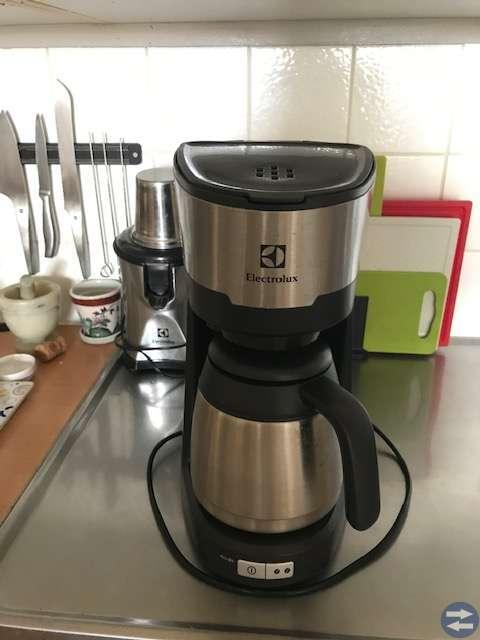 Kaffebryggare - Electrolux med rostfri termoskanna
