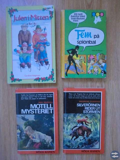 Ungdomsböcker, flera bilder